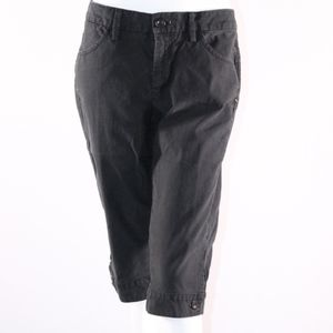 Lucky Brand Black Cropped Women's Size 10/30